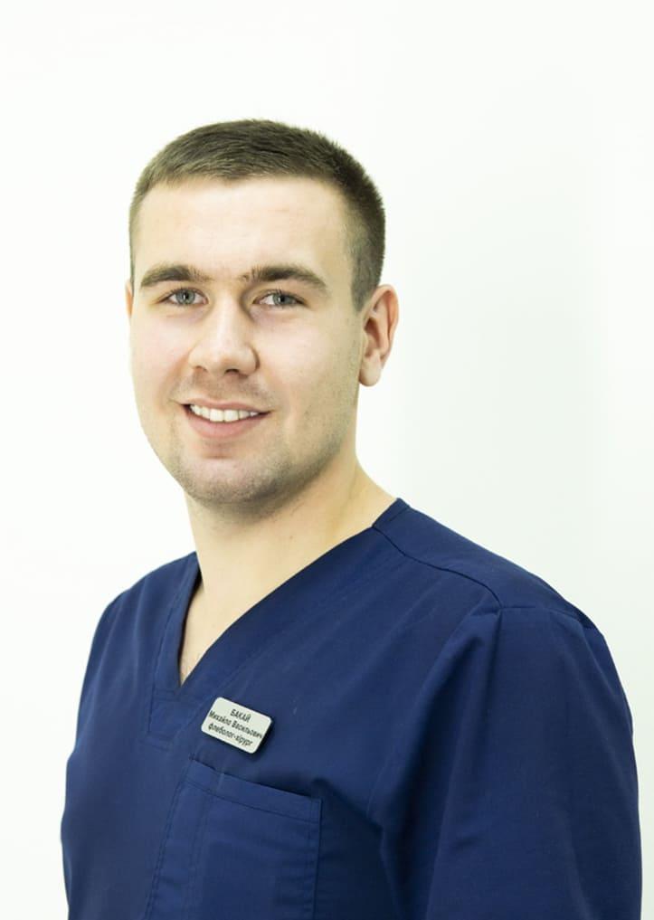 Сосудистый хирург, флеболог Бакай Михаил Васильевич