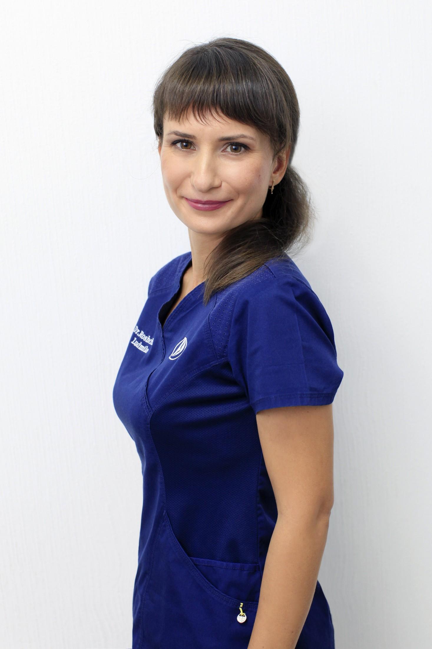 Врач-хирург, флеболог Рощина Людмила Викторовна